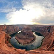 Horseshoe Bend sunset(United States)